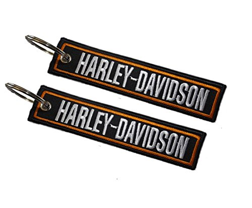 lseitiger Schlüsselanhänger für Harley-Davidson Modelle (1 Stück) ()