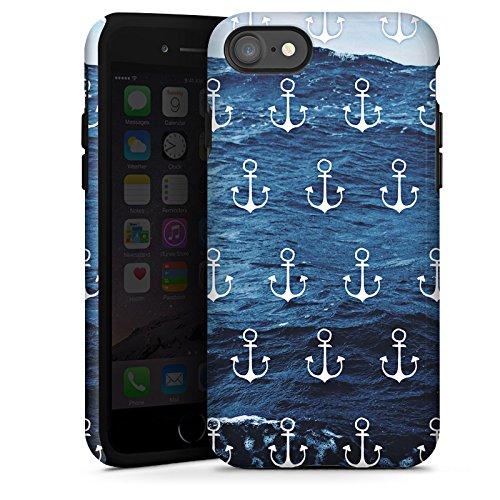 Apple iPhone 6s Plus Hülle Case Handyhülle Anker Meer Sommer Tough Case glänzend