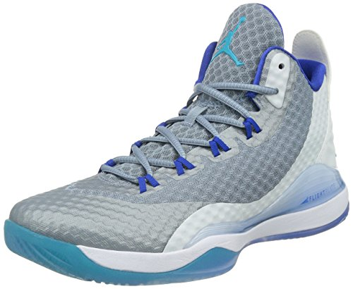 Nike Jordan Super.fly 3 Po, Chaussures de Baseball homme WHITE/TRQS BLUE-GM RYL-CL BL