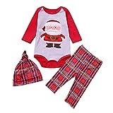 Christmas Pajamas Sets Family Matching Sleepwear Nightwear Mom Santa Claus Tops Blouse Pants Christmas Outfits Set