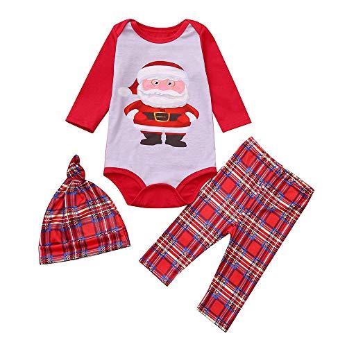 Rosennie Weihnachtsmann Mutter Familie Pyjamas Nachtwäsche Kinder Jungen Mädchen Weihnachten Nachtwäsche Papa Mama Paare Nachthemden Familie Weihnachten Pyjamas Sets(Rot C,80)