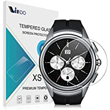 LG Watch Urbane 2nd W200 Cristal Templado Vikoo 9H 2.5D 0.26m Shatterproof Protector de Pantalla de Vidrio Templado HD Flim Tempered Glass Screen Protector para LG Watch Urbane 2nd Edition Smartwatch