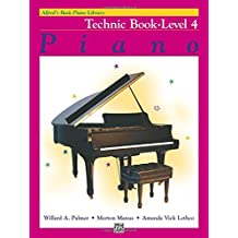 Alfred's Basic Piano Library Piano Course, Technic Book Level 4