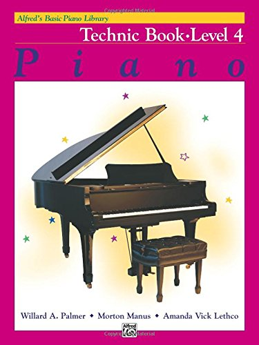 Alfred's Basic Piano Library Technic, Bk 4