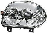 HELLA 1EL 007 510-101 Halogen Hauptscheinwerfer, Rechts, Ohne Kurvenlicht