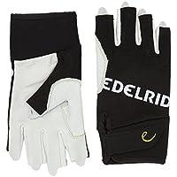 EDELRID Kletterhandschuhe Work Gloves Open - Guantes para hombre, color blanco, talla L