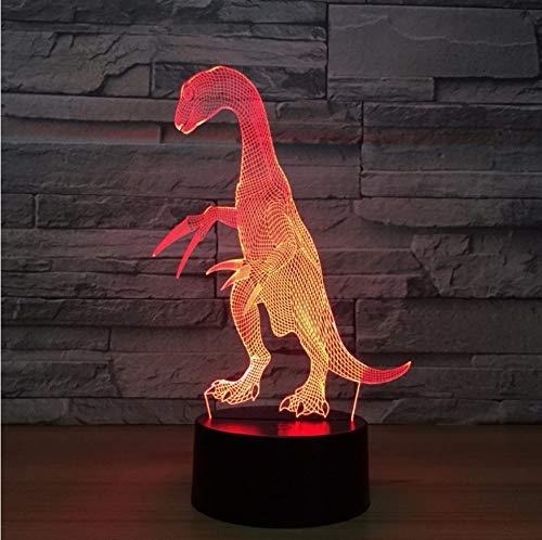 Dinosaurier3d lampe7farbe led nachtlampen für kindertouchusb tischlampe baby schlaf nachtlicht zimmer lampe (Star Wars Licht Lichtschwert-zimmer)