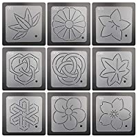 Plastic Embroidery Quilting Templates & Stencils DIY Sub Embroidery Model Sewing Templates Quilting Patchwork Sewing Craft Tool Spine Embroidery Templates Tracing Board Spinning Handmade Sewing Tools