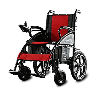 CHEN. Electric wheelchair - elderly scooter elderly disabled intelligent light folding four-wheeled seat European and American style