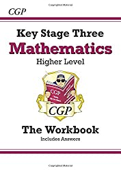 KS3 Maths Workbook (with answers) - Higher (CGP KS3 Maths)