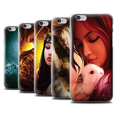 Officiel Elena Dudina Coque / Etui pour Apple iPhone 6+/Plus 5.5 / Koalas/Escalade d'Arbres Design / Les Animaux Collection Pack 16pcs