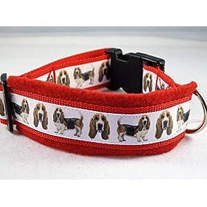 Halsband Basset Hound Größe M 40-45 cm Halsumfang