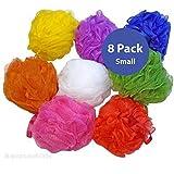 Aquasentials Small Mesh Bath Sponge 8 pack