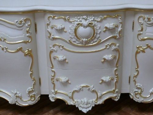 Barock Anrichte Antik Stil – Stil Sideboard Kommode VenetianBarock Rokoko Vp9976 - 3