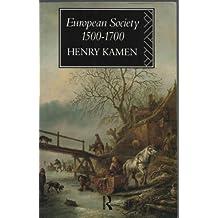 European Society, 1500-1700