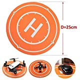 Waterproof Drone Landing Pad Parking Apron Mouse Pad for DJI Spark Mavic Pro Drone , SYMA X5SW , Mini Micro FPV Racing RC Quadcopter --- 250mm by LITEBEE