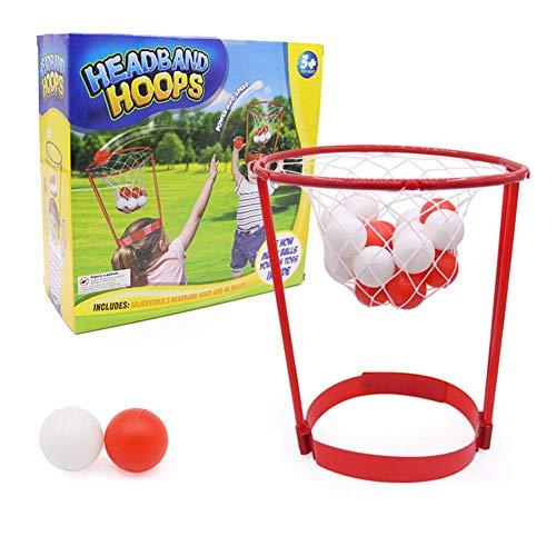 Puzzle Eltern-Kind Sport im Freien Sport Kinder Spielzeug Stirnband Reifen Ball Spielzeug Sicherheit Puzzle erfassen Basketball Kinder Spiel Stirnband Spiel Eltern-Kind Spielzeug