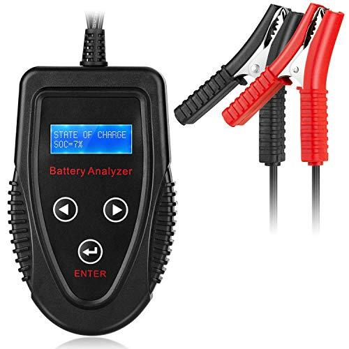 Professioneller 12 V 20-1200 CCA 220 AH Automotive Load Battery Tester Digital Analyzer Bad Cell Test Tool für Auto/Boot/Motorrad und mehr