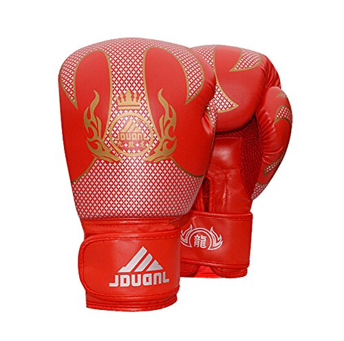 Bequeme Adult Boxhandschuhe Trainingshandschuhe ROT, 10 Ounce