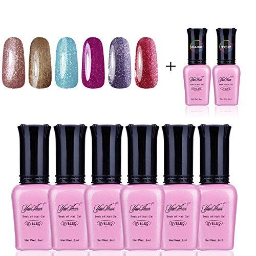 y-s-elegante-soak-off-gel-nagellack-8-pcs-lot-top-coat-base-coat-uv-polish-gel-farben-kits