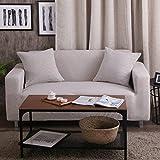 Estirar sofá fundas de sofá fundas equipada sofá de dos plazas cubierta para sala de estar,S...