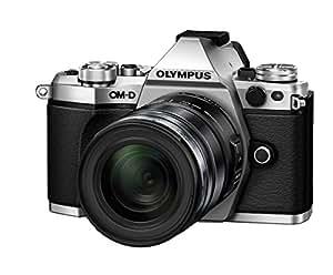 Olympus OM-D E-M5 Mark II Camera - Silver/Black (16.1 MP, M.Zuiko 12 - 50 mm Lens)