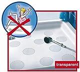 Anti-Rutsch-Sticker  von Safepore® für Ihre Sicherheit im Bad - kein Ausrutschen mehr in der Dusche oder Badewann