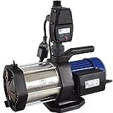 Agora-Tec® AT-Hauswasserwerk-5-1300-5DW, 5 stufige Kreiselpumpe mit max: 5,6 bar und max: 5400l/h und Druckschalter mit Trockenlaufschutz
