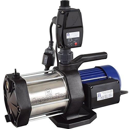Agora-Tec® AT-Hauswasserwerk-5-1300-5DW Druckschalter mit Trockenlaufschutz