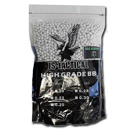 PALLINI JS-TACTICAL 0.20 DA SOFT AIR 1 KG-5000 PALLINI 6MM PRIMA QUALITA' MASSIMA PRECISIONE