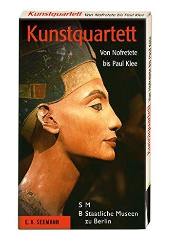 Kunstquartett: Von Nofretete bis Paul Klee. En Spiel mit 32 Karten