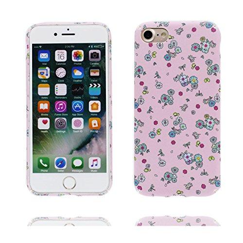 iPhone 7 Plus Custodia, Ultra sottil TPU Case Cover Shell Semplice Progettato per iPhone 7 Plus Copertura (5.5 pollici), prova antipolvere della prova di polvere ( Cartoon Stripe ) color 6