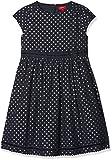 s.Oliver Mädchen Kleid 58.711.82.2766, Blau (Dark Blue AOP 58B5), 104