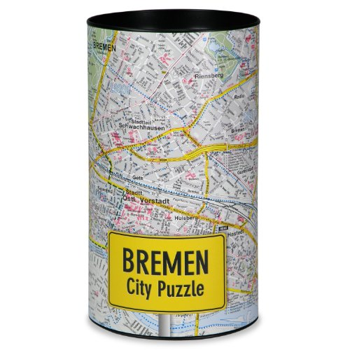 Extragifts City Puzzle - Bremen