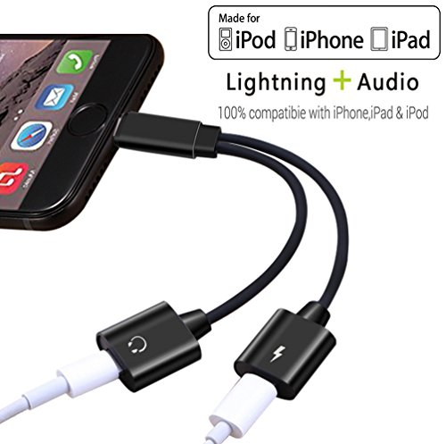 2-in-1-Lightning-Earphone-Adapter-Accessories-for-iPhoneX88Plus77Plus-Dual-Lightning-Headphone-Audio-Charge-Adaptor-for-iPhone-77PlusSupport-CallChargingAux-Audio-for-iOS-10311White