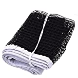 #2: Highly Durable Long Lasting Table Tennis Nylon Threading Net Standard Size Black Color by R.P.M Sports