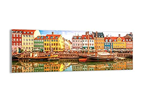 Glass Picture - Glass Print - 1 part - Width: 140cm, Height: 50cm (Width 55,1