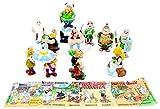 Kinder Überraschung 10 Asterix und Obelix Figuren aus dem Jahr 2000, Komplettsätz