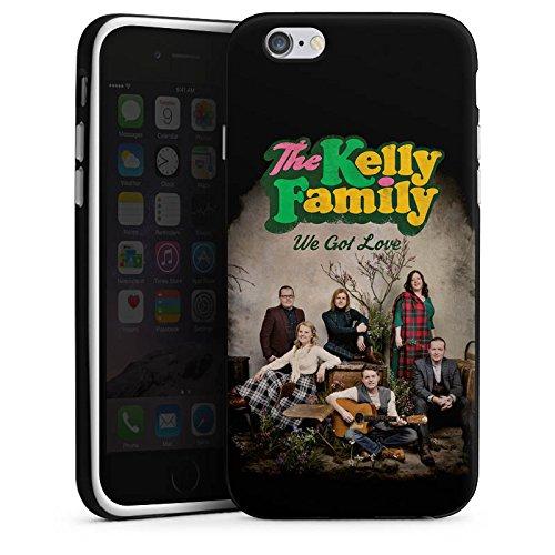 Apple iPhone 6 Plus Silikon Hülle Case Schutzhülle The Kelly Family We got Love Merchandise Silikon Case schwarz / weiß