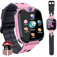 PTHTECHUS Kinder Smartwatch Telefon - Smartwatch Kinder Uhr Telefon Anruf Mit SOS Schrittzähler Videorecorder…