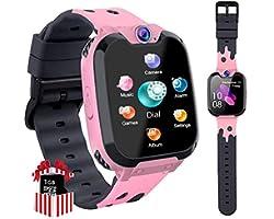 Orologio Smart Phone da Gioco per Studenti Bambino, Ragazzi e Ragazze Orologio Touch Screen ad Alta Definizione da 1,5 Pollic