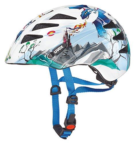 Uvex Kinder Fahrradhelm Kid 1, Dragons, 47-52, 4142590815 (Kleinkind Helm Für 2-jährige)