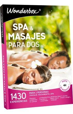 WONDERBOX Regalo Scatola Regalo–Spa & Massaggi per Due–1.430esperienze per Due Persone