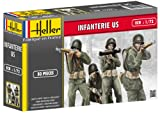 Heller - 49601 - Figurine - Infanterie US