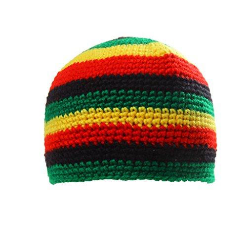 El Reggae Moda Jamaica Sombrero Rasta Beanie Casquillo De La Bóveda Del Regalo De Cumpleaños Del Dreadlock Tam