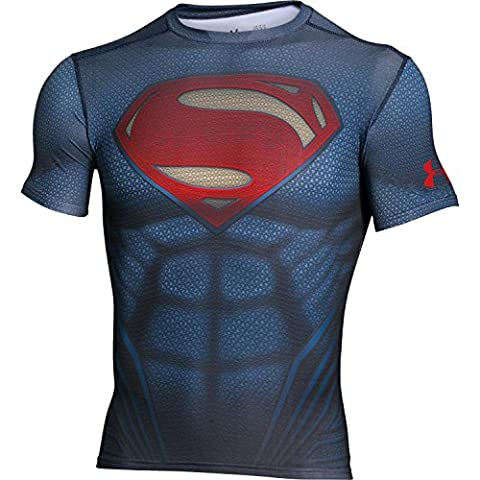 Under Armour Superman Alter Ego Compression T-Shirt - AW16 -