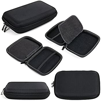 "DURAGADGET Hard Shell EVA 6"" Box Case in Black with"