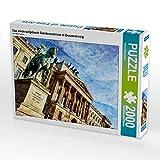 CALVENDO Puzzle Das wiederaufgebaute Residenzschloss in Braunschweig 2000 Teile Lege-Größe 90 x 67 cm Foto-Puzzle Bild von Reiner Silberstein