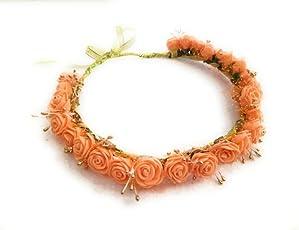 Handmade- Floral Tiara - Head Band