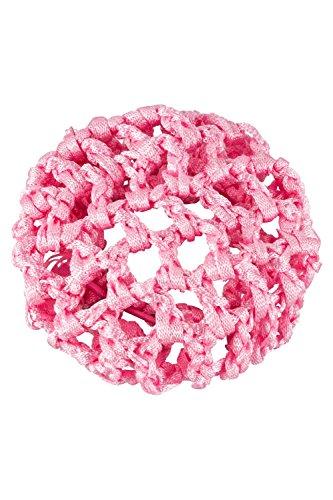 tanzmuster Ballett Duttnetz / Knotennetz mit Gummiband in rosa - für den perfekten Halt des Ballett Dutts und als süße Ergänzung für jedes Ballettoutfit